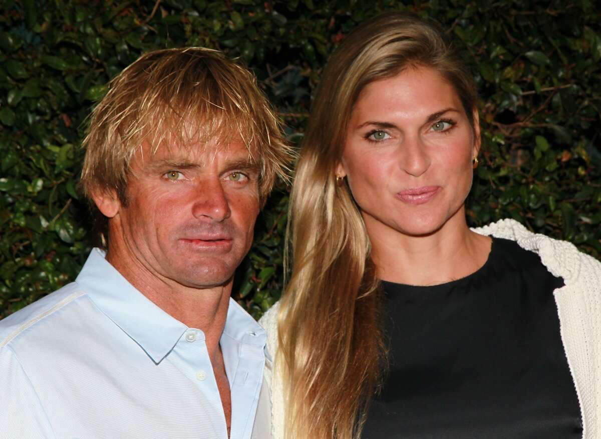 Volleyball player/model Gabrielle Reece and her surfer husband Laird Hamilton