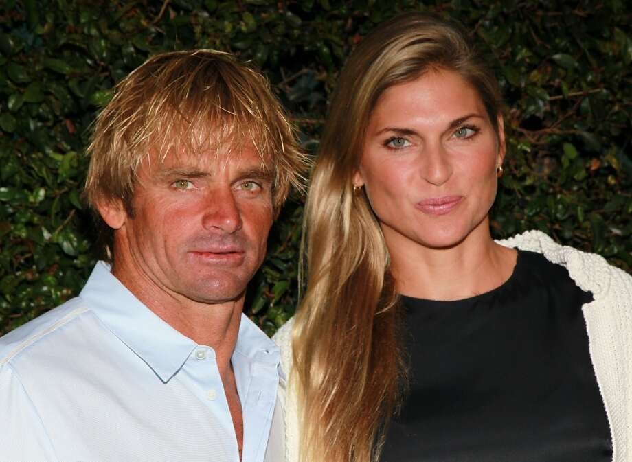 Volleyball player/model Gabrielle Reece and her surfer husband Laird  Hamilton Photo: David Livingston, Getty Images