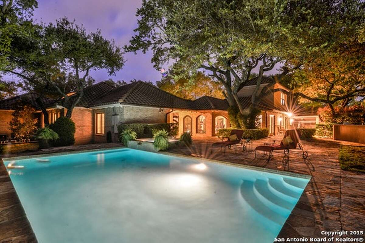 702 Contadora in San Antonio  Listing price: $985,000  Bedrooms: 4  Bathrooms: 3 full, 2 partial  Home size: 5,085 square feet  Lot size: .58 acres  Source: Trulia