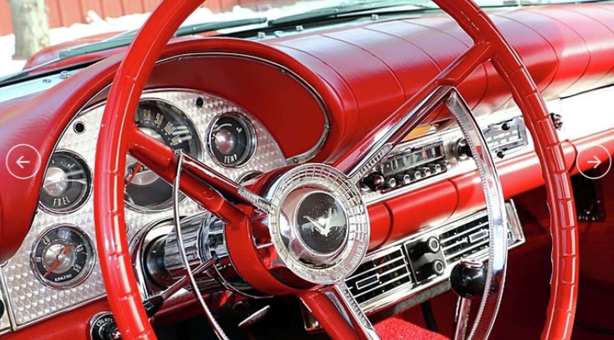 1957 Ford Thunderbird For 1957, the already-popular Thunderbird was revised into what many argue was its finest incarnation. A record 21,380 Thunderbirds were produced that year, and with a stellar combination of looks, performance and comfort, it's easy to see why this became one of the most iconic cars of the era. (Lot F197)