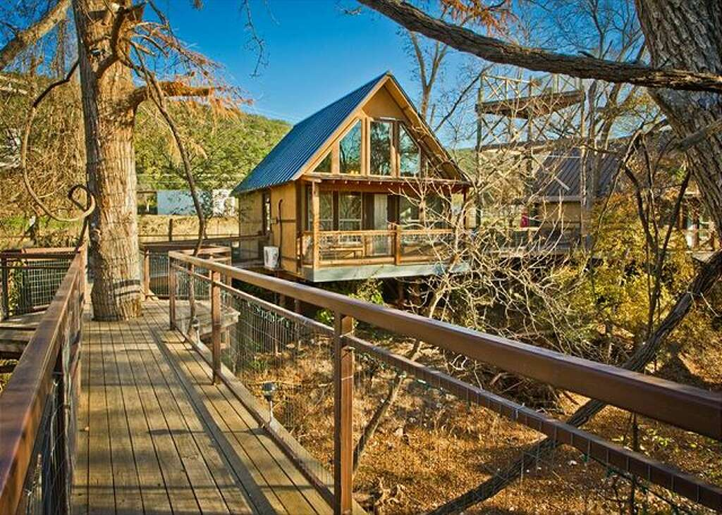 treehouses at river road treehouses in new braunfels texas photo provided by best