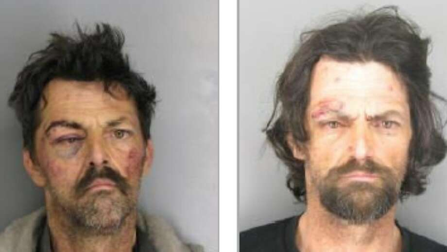 Mug shots of William Huff in 2014, left, and 2009 Photo: Contra Costa DA's Office