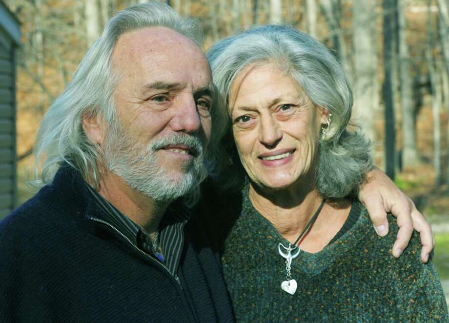 Maryann Daino's Lotto winnings will help fund a house for life partner Dennis Klaus and herself. April 2015  Photograph by H. John Voorhees III Photo: Contributed Photo, Carol Kaliff / The News-Times