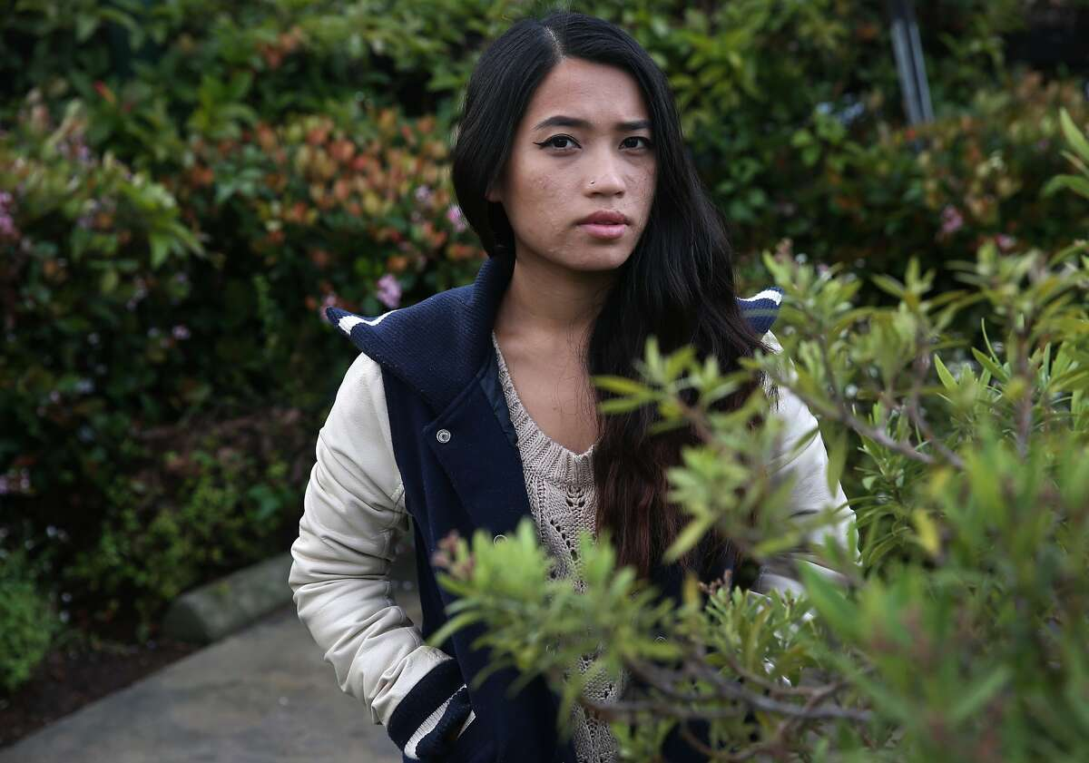 Kiki Vo is seen in Berkeley, Calif. on Tuesday, April 7, 2015. Vo has temporary permission to stay in the United States through the federal Deferred Action for Parental Responsibility but is having difficulty securing health care coverage. State legislators are introducing bills aimed at improving the lives of people living in the state without documentation and would include extending Medi-Cal to all Californians, regardless of immigration status.