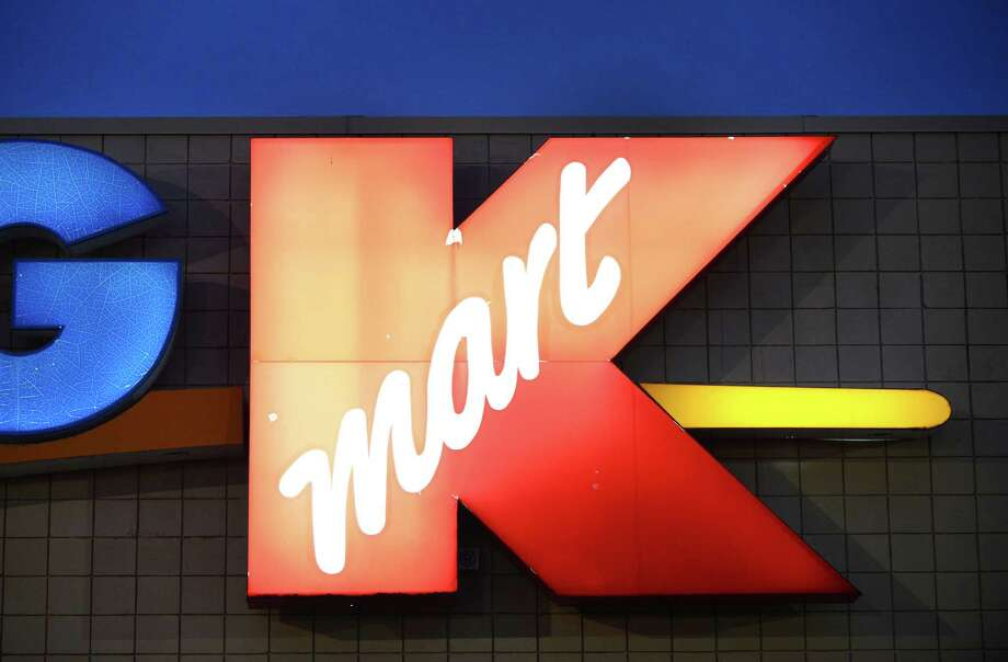 Sign outside the Clifton Park Kmart store Monday evening Feb. 3, 2014, at Shopper's World off Route 146 in Clifton Park, N.Y. The store is slated for closure. (Will Waldron/Times Union) Photo: WW