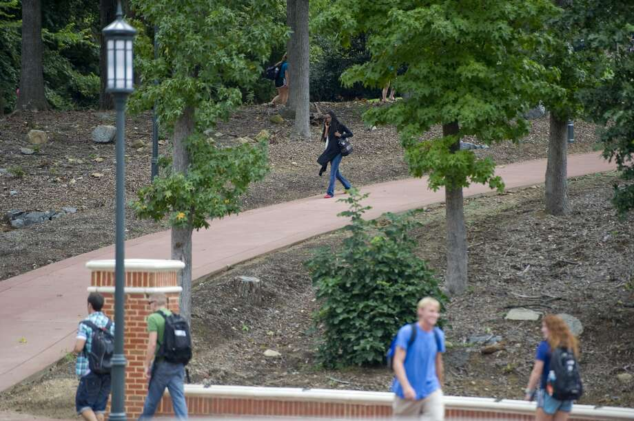 . 7 The University of North Carolina at Charlotte 32 reported rape. Photo: Ann Hermes, Getty Images, The Christian Science Monitor