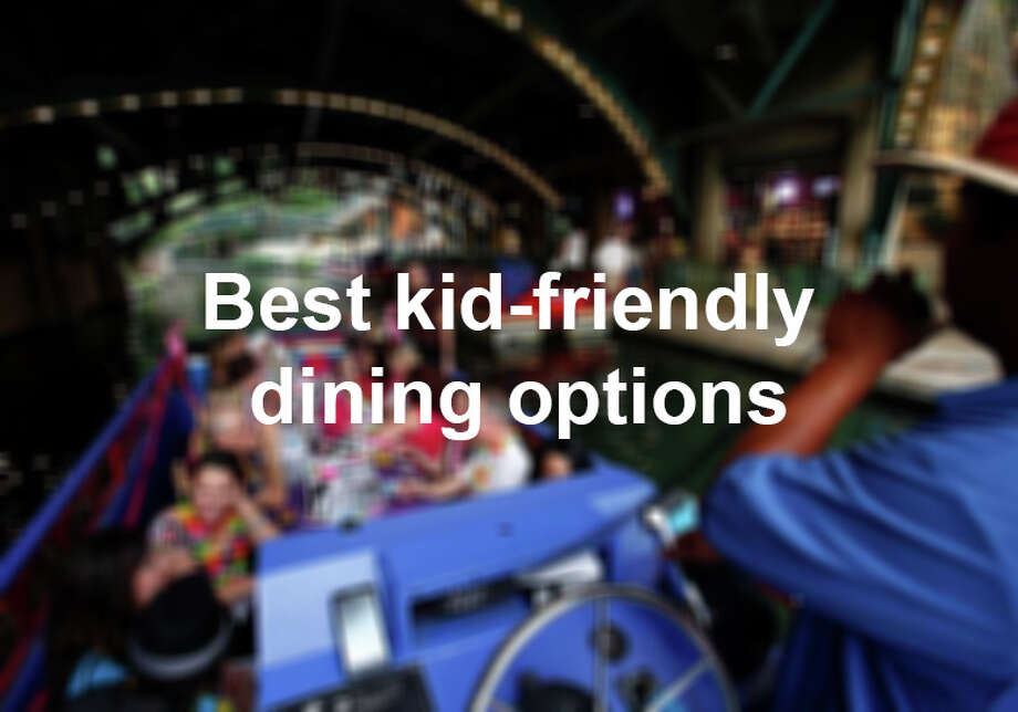 It's nice to know that there are local restaurants that welcome children, are happy to oblige your requests, offer a kids menu and understand that they'll need to sweep the floor under your table when you're gone. Click through gallery.  Photo: J. Michael Short, San Antonio Express-News / THE SAN ANTONIO EXPRESS-NEWS