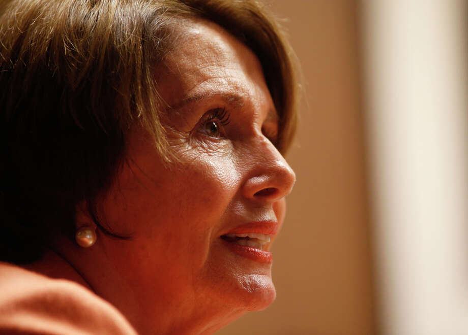 Rep. Nancy Pelosi says Republicans are threatening to cut financial aid for millions of college students. Photo: Erin Brethauer / The Chronicle / ONLINE_YES