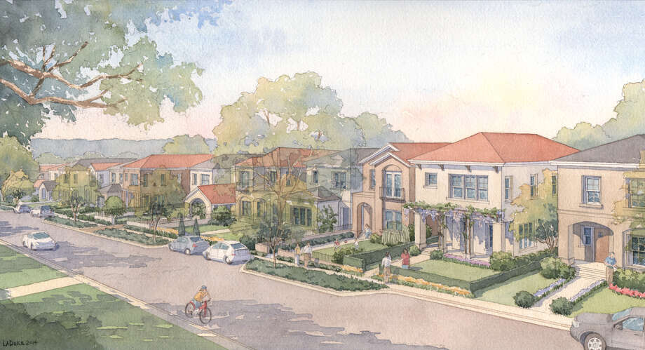 PSW says it will build energy-efficient homes in the Spanish eclectic style, with native landscaping  in Olmos Park, with communities to follow in Alamo Heights and South Town. Photo: Courtesy