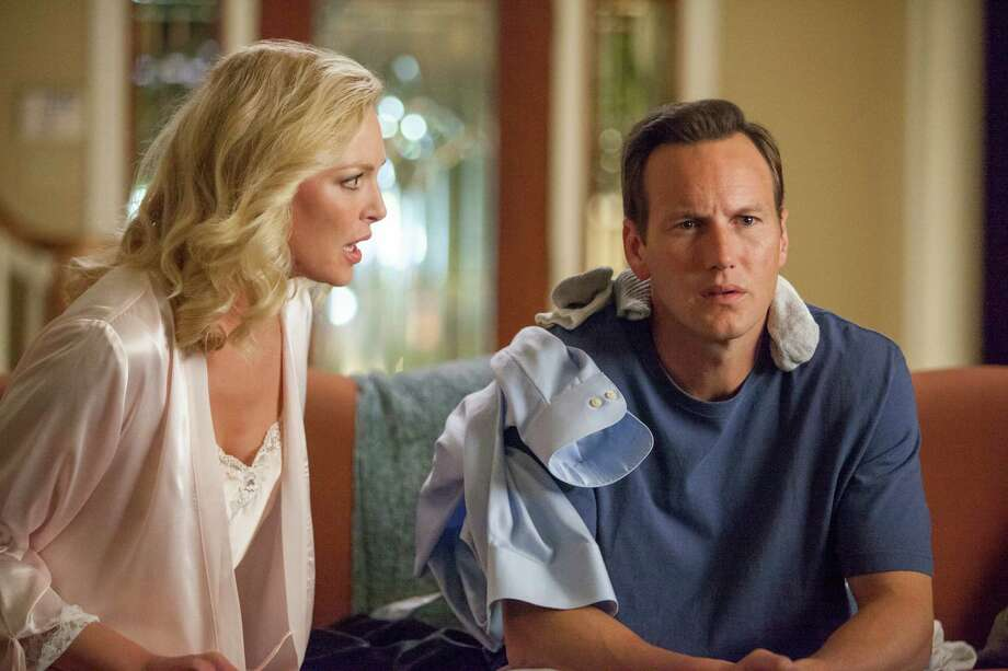 "Don Champagne (Patrick Wilson) is starting to regret the affair he's been having with the salesgirl at work, but his wife, Mona (Katherine Heigl), has a solution in ""Home Sweet Hell."" (Available to rent and buy.) Photo: Skip Bolen /Vertical Entertainment"