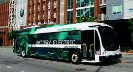Proterra's electric buses will soon be built at a factory in Los Angeles County.