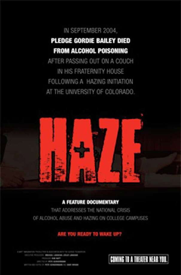 "A screening of the documentary ""Haze"" will be a part of the presentation ìThe Straight Talk About College Binge Drinking: Truth & Consequences,î at New Canaan Library on April 22. Photo: Contributed Photo / New Canaan News"