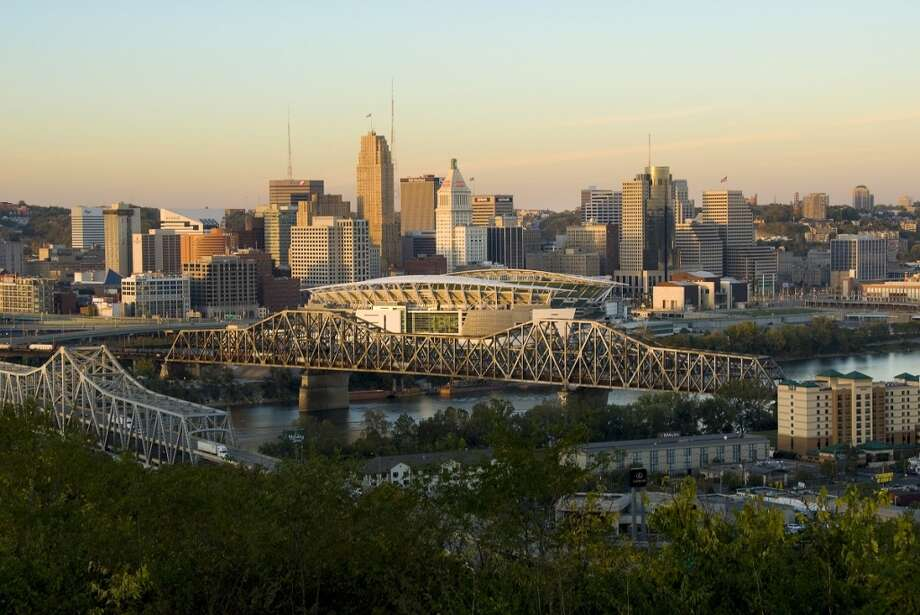 10. CincinnatiMillennial population: 27 percent  | Job postings per 1,000 residents: 46 |  Unemployment rate: 4.9 percent | Median rent 2BR:  $2,138 Photo: Anne Rippy, Getty Images