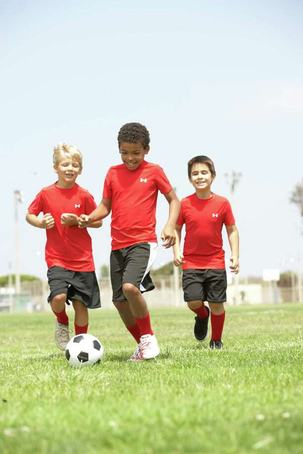 For your young soccer stars, the Houston Dynamo hosts summer soccer camps aimed at players ages 5-12 who are looking for a challenging soccer experience or a fun introduction to the game. / (c) Monkey Business Images Ltd