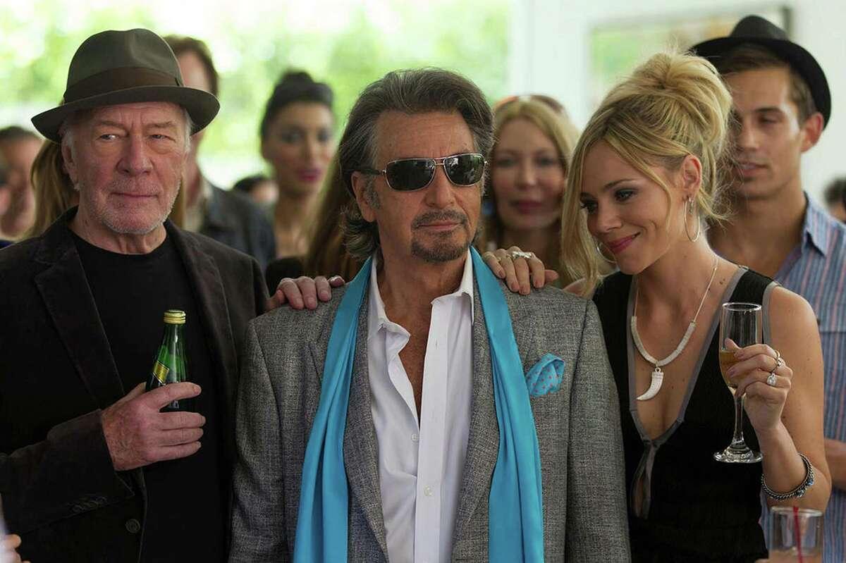 "Christopher Plummer, Al Pacino and Katarina Cas star in ""Danny Collins."" (Bleecker Street)"