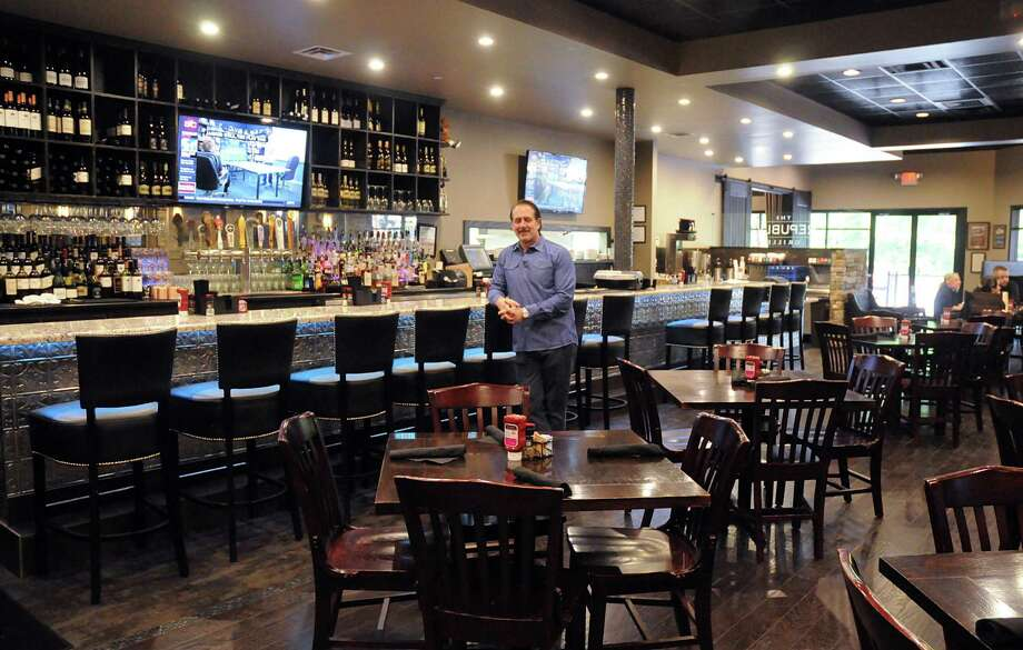 The Republic Grille Owner Terry Mcburney In Main Dining Area Of His Restaurant