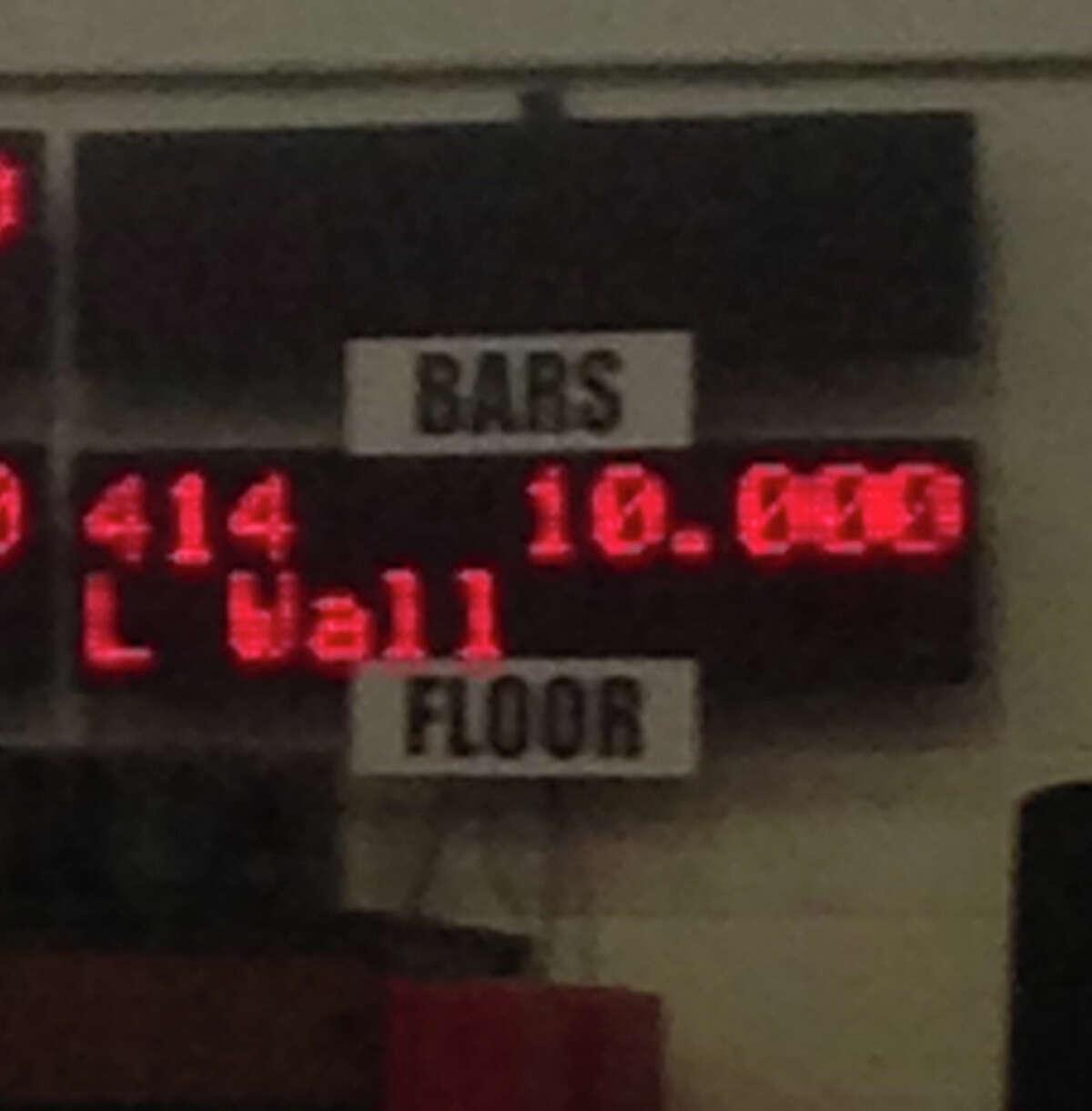 Perfection on the floor; Darien YMCA gymnast Leah Wallís 10.00 score for her floor routine