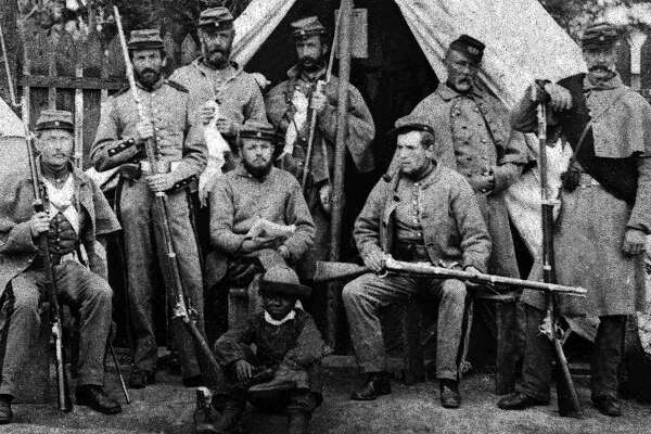 In North Cambridge and WestÊSomerville, Massachusetts, on the Somerville and CambridgeÊline, in the area of Cameron Avenue, was a camp of rendezvous and instruction calledÊCamp Cameron. From June 13, 1861 through late January 1863, thousands of recruitsÊwent through Camp Cameron on their way to the war.