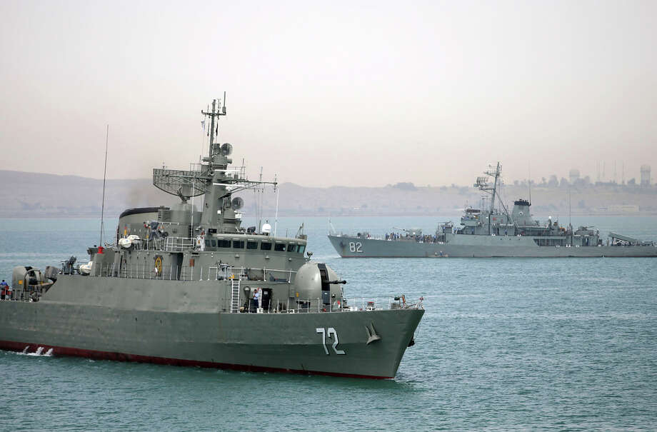 "Iran Rear Adm. Habibollah Sayyari says naval ships in Yemen waters will be part of an anti-piracy campaign ""safeguarding naval routes for vessels."" Photo: Mahdi Marizad / Associated Press / Fars News Agency"
