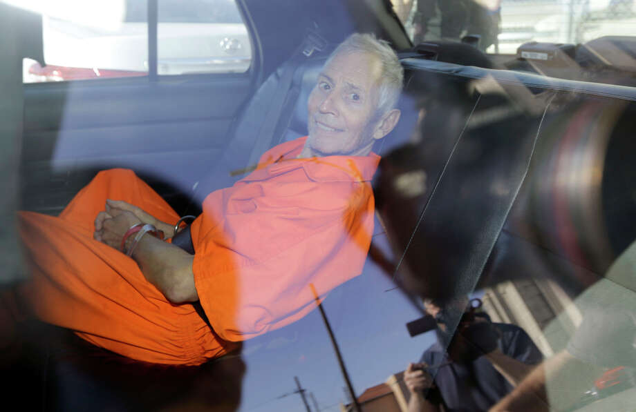 Robert Durst, suspected of an L.A. slaying, was arrested on weapons charges in New Orleans last month. Photo: Gerald Herbert / Associated Press / AP