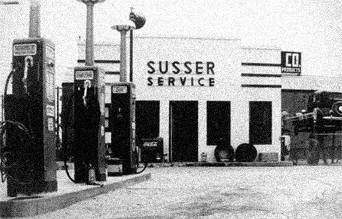 Stripes The origins of the convenience store chain Stripes has its roots back in 1938 in Corpus Christi when Sam Susser and his wife Minna began operating two filling stations that Minna had previously inherited. Along the way Susser family would operate 7-Eleven and Circle K locations before Stripes was officially born in 2006. The Susser's also helped usher in the first pay-at-the-pump systems in the world, meaning that running into the store to pay for your gas would become only an option if you had a credit card.