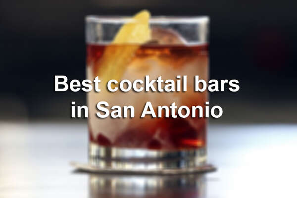 Click through the slideshow to for the Express-News' cocktail bar recommendations.