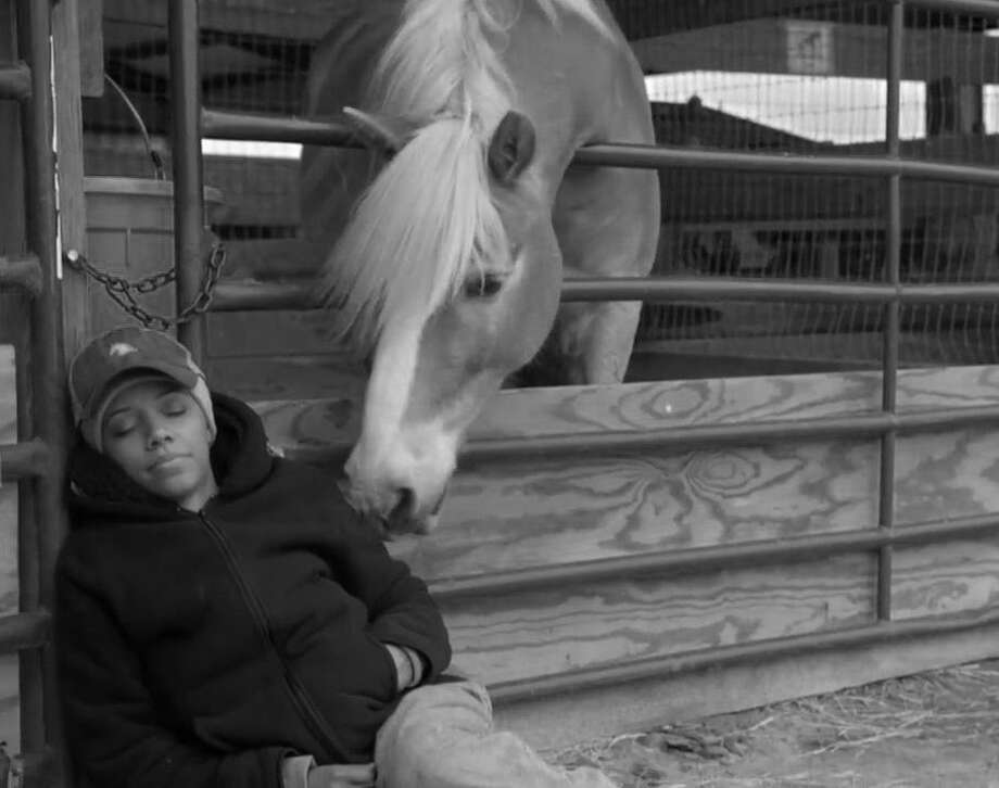 """Steps of Faith"": A light-hearted dramedy about Faith Houston, an accountant who is inspired by God to move to a small town and work on a hippotherapy farm, using horses to help development in children. Director and Dallas native M. Legend Brown will attend. 5 p.m. April 12. Photo: Courtesy Photo"