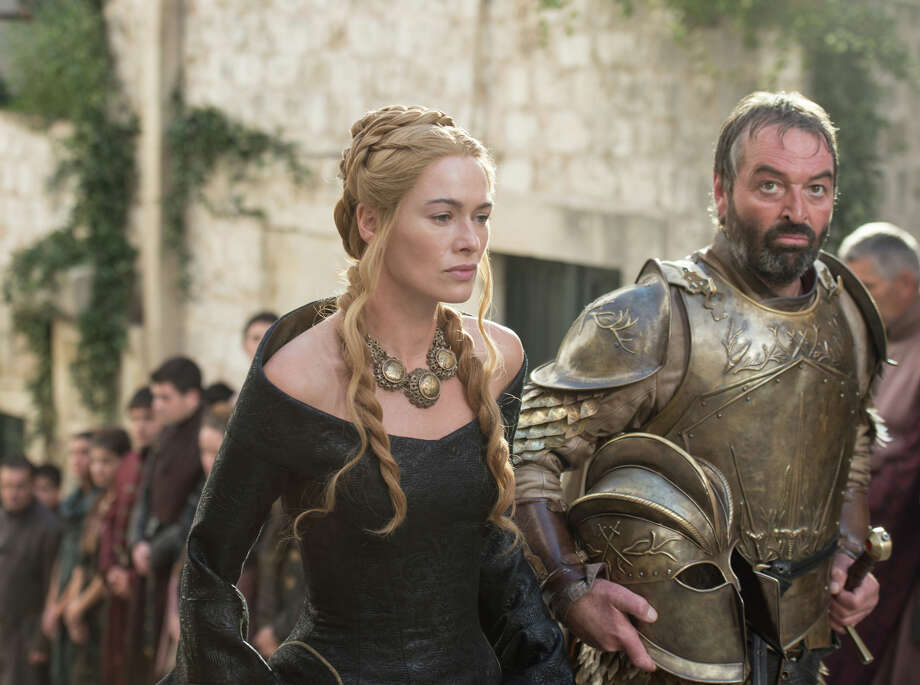 "Lena Headey and Ian Beattie return to HBO's epic drama ""Game of Thrones,"" which takes on greater urgency in its fifth season. Photo: Macall B. Polay / HBO / ONLINE_YES"