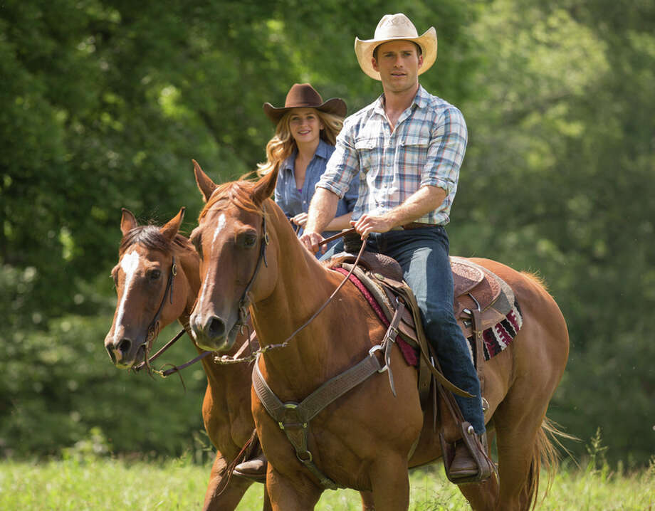 "Britt Robertson and Scott Eastwood in ""The Longest Ride,"" based on the Nicholas Sparks novel. Photo: Michael Tackett / Michael Tackett / 20th Century Fox / Twentieth Century Fox"