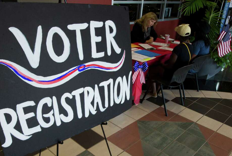 More than 60 percent of Texans support an online voter registration system, according to recent polling by the Pew Charitable Trusts. ( J. Patric Schneider / For the Chronicle ) Photo: J. Patric Schneider, Freelance / © 2012 Houston Chronicle