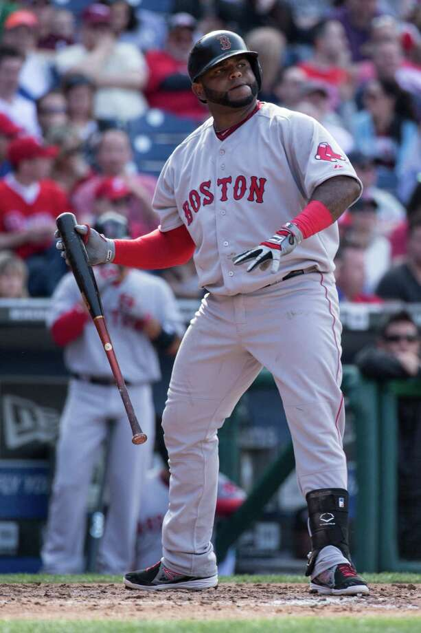 Pablo Sandoval collected his first American League hit on Wednesday night. Photo: Chris Szagola / Chris Szagola / Associated Press / FR170982 AP