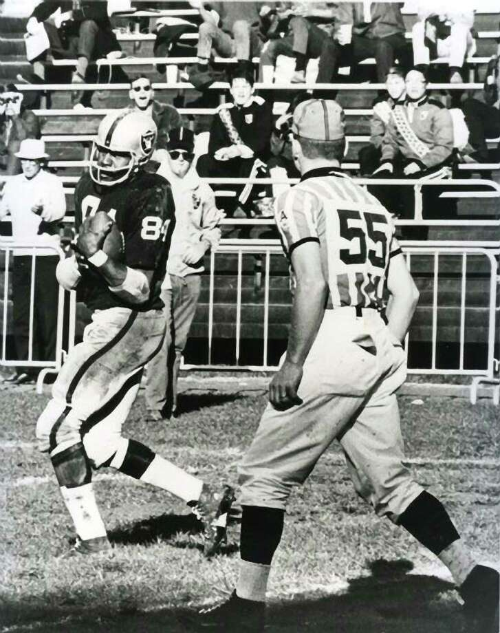 Art Powell twice led the AFL in touchdown receptions. Photo: File Art / File Art