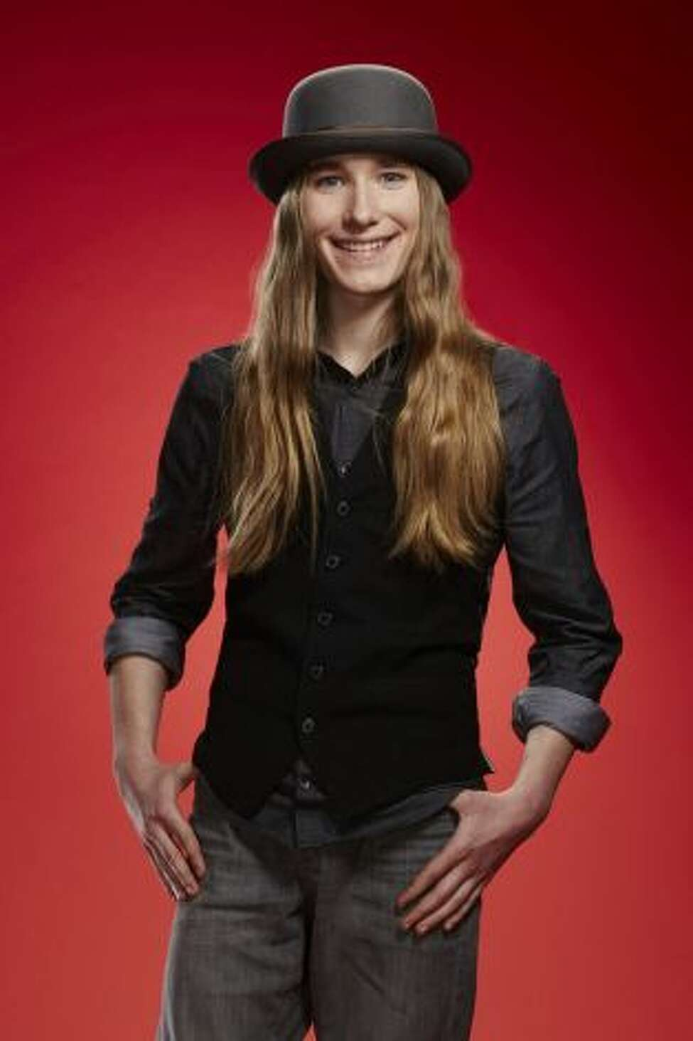 15-year-old Fultonville native Sawyer Fredericks wowed the judges and earned a four-chair turn Monday night on The Voice. (NBC, Paul Drinkwater/NBC)