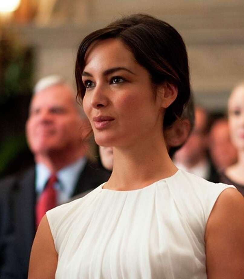 """Berenice Marlohe (Arielle) in Victor Levin's """"5 to 7."""""""