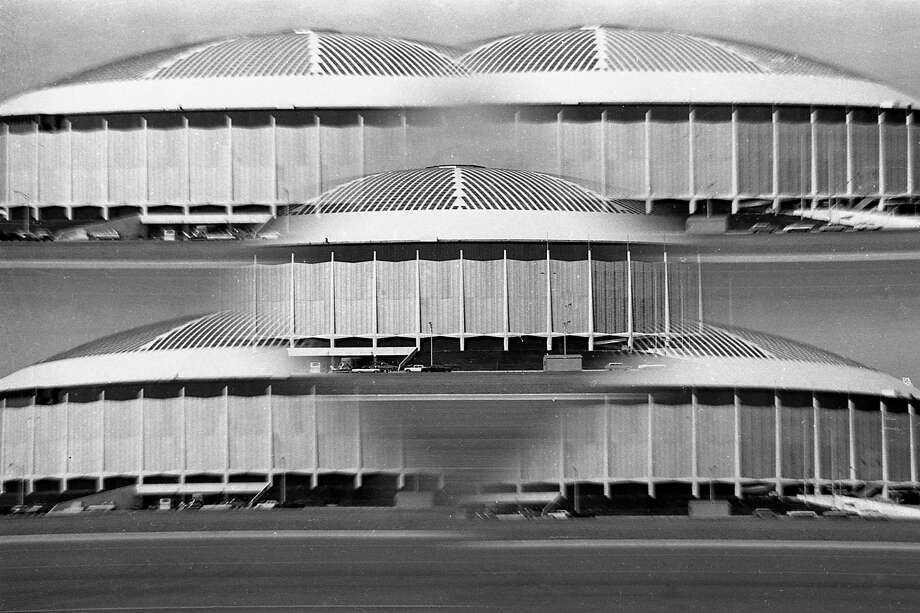 Astrodome, 1965. Ken Hoffman suggest a Kickstarter fund to save the dome. / Houston Chronicle