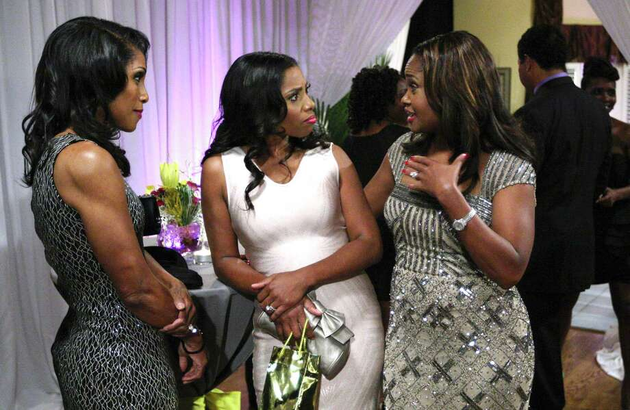 """Drs. Jacqueline Walters, from left, Simone Whitmore and Heavenly Kimes appear in """"Married to Medicine."""" A spinoff of the Atlanta-based series will be set in Houston, according to Bravo. Photo: Wilford Harewood / 2013 Bravo Media, LLC"""