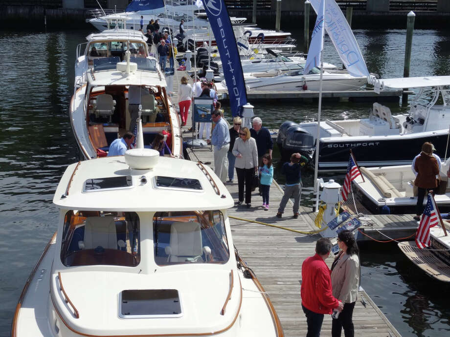 The Greenwich Boat Show is coming to town this weekend. Photo: Contributed Photo / Greenwich Time Contributed