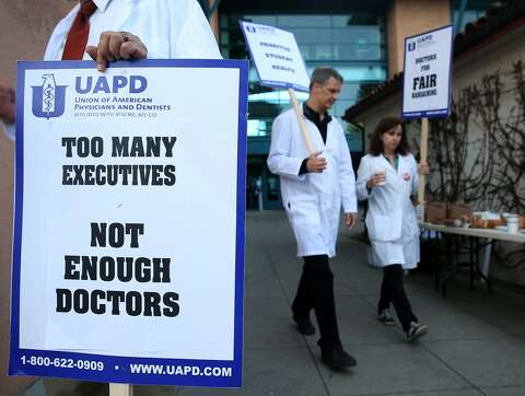 In rare move, UC campus doctors plan 4-day walkout - SFGate