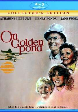 "Blu-ray cover: ""On Golden Pond"""