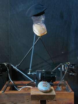 """""""Lawrence Ferlinghetti,"""" a robot by by Kal Spelletich"""