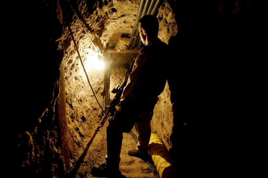 26 facts about how drug cartels use tunnelsTUNNEL VISION1. Authorities have discovered 181 cross-border tunnels between the U.S. and Mexico in the past 25 years. Most are so small that a human can barely squeeze into it.Source: New Yorker Photo: Sandy Huffaker, Getty Images