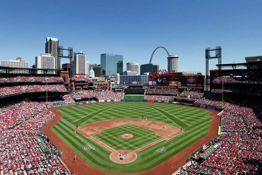 Busch Stadium Team: St. Louis CardinalsThis open-air park features a view of the city's most iconic landmark. There's not much else to say about this.  Photo: Joe Robbins, Getty Images / 2014 Joe Robbins
