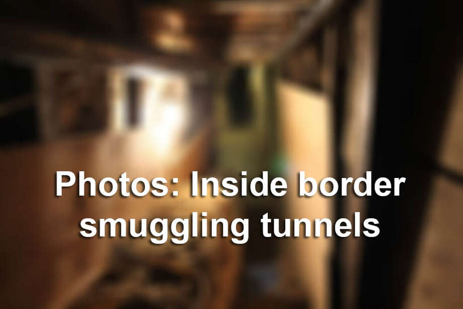 Dozens of drug smuggling tunnels have been found over the years. Photo: SIete Dias, Getty Images