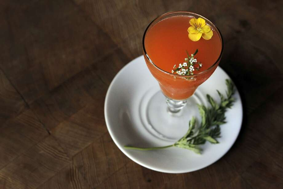 The Bugs Bunny, a carrot cocktail served at 15 Romolo Place in San Francisco, Calif., Friday March 13, 2015. Photo: Sophia Germer, The Chronicle