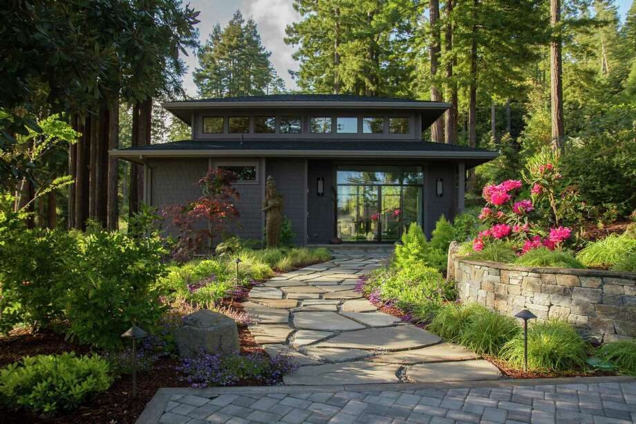 The main house was remodeled in 2010 and is surrounded by vibrant landscaping. Click here to see what else is currently on the market in Sonoma County. Photo: Vanguard Properties / ONLINE_CHECK