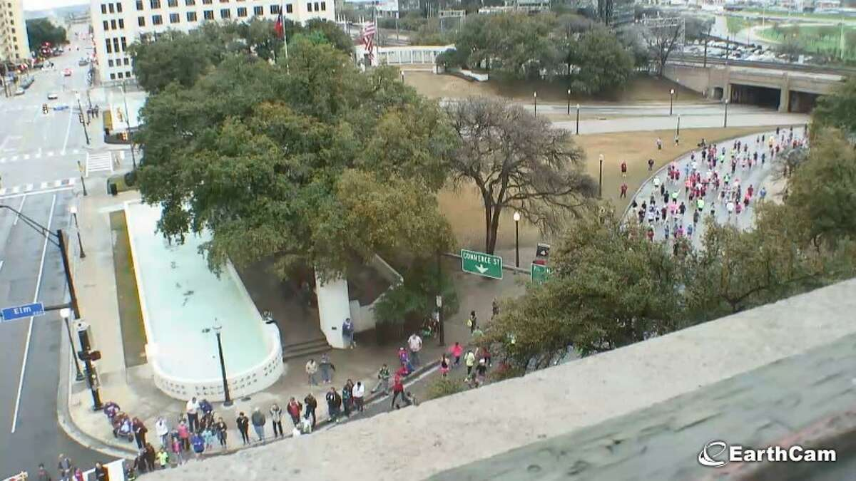 Dealey Plaza: Dallas, Texas Check out the view from the infamous 6th floor window.