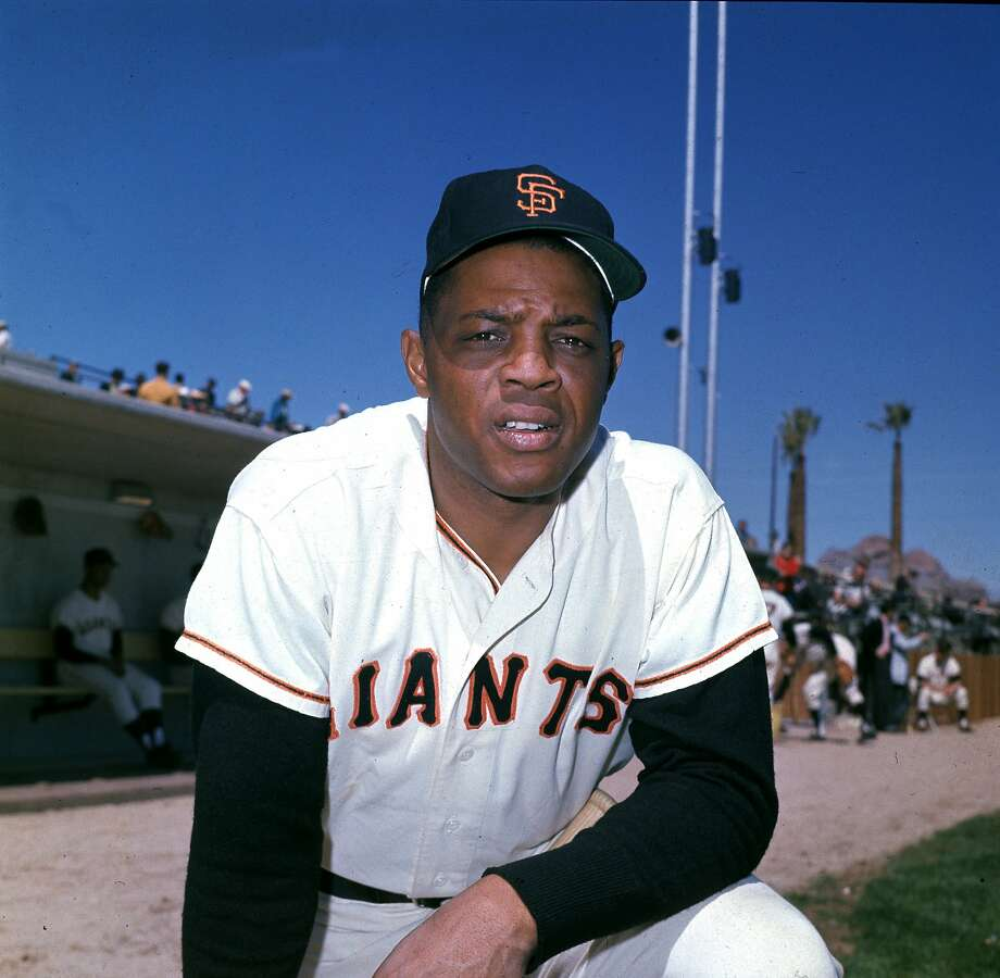 Willie Mays, outfielder for the San Francisco Giants, is shown in March 1962.  (AP Photo) Photo: ASSOCIATED PRESS