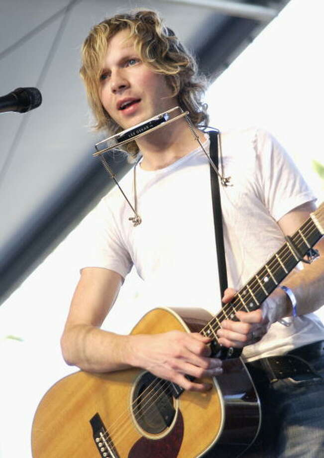 Beck, who performed at Coachella, will be in Houston for the In Bloom festival. Photo: Tim Mosenfelder, Getty Images / 2004 Getty Images
