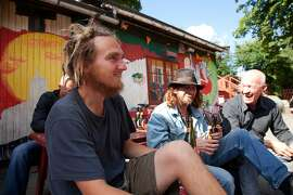 The hippie squatters' community of Christiania in Copenhagen is as far from Old World Europe as you can get.