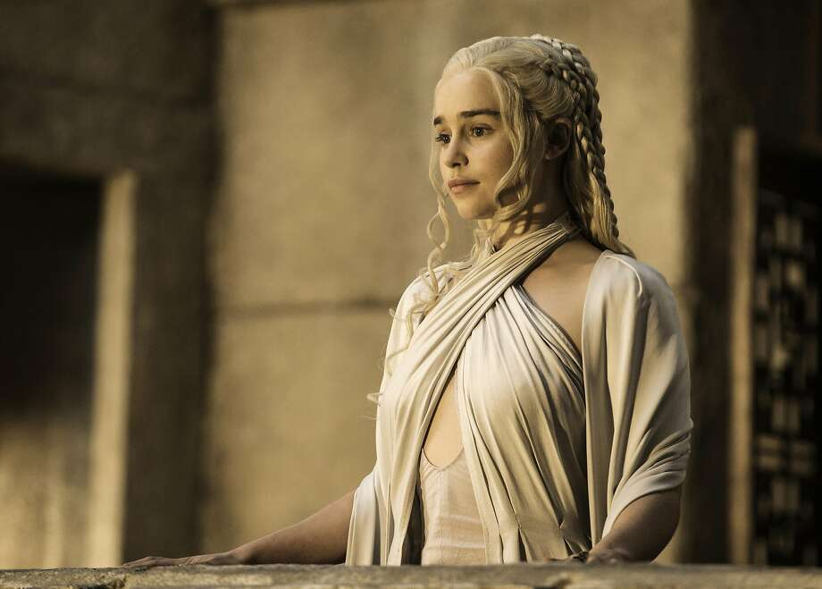 "Emilia Clarke as Daenerys Targaryen in ""Game of Thrones."" (HBO) Photo: Handout, McClatchy-Tribune News Service"